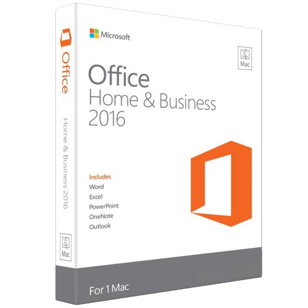 Microsoft Office Home & Business 2016 for MAC  – 1 PC