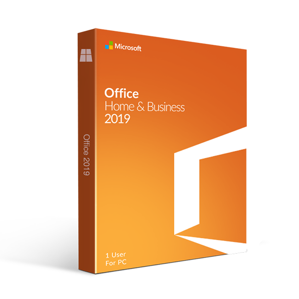 Microsoft Office Home and Business 2019 for Windows  – 1 PC